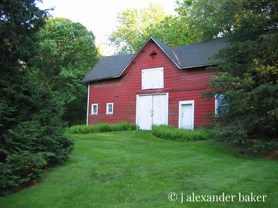 Our Barn in Summer