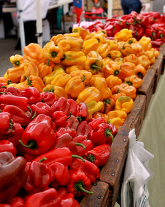 More sweet peppers