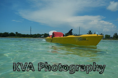 Long Key, Florida, beach, kayak