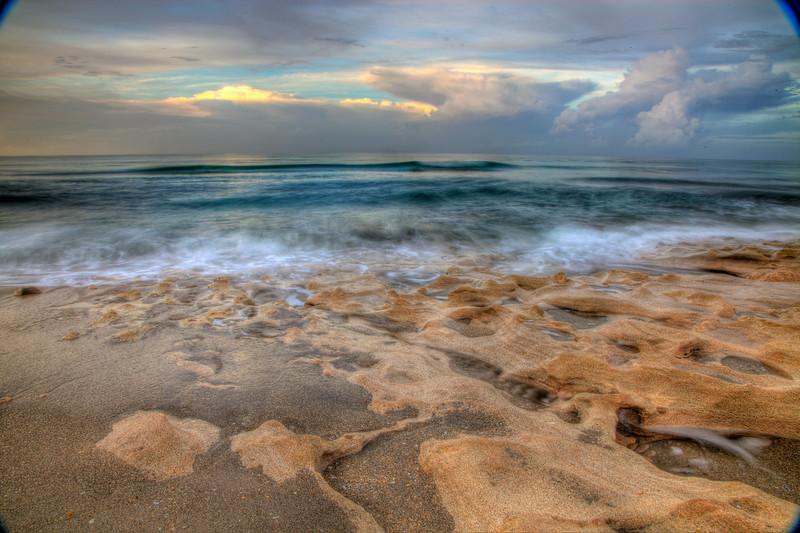 Ocean crash on time rocks