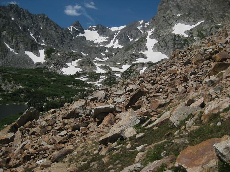 Hike to Lake Isabelle, Colorado July 18, 2009