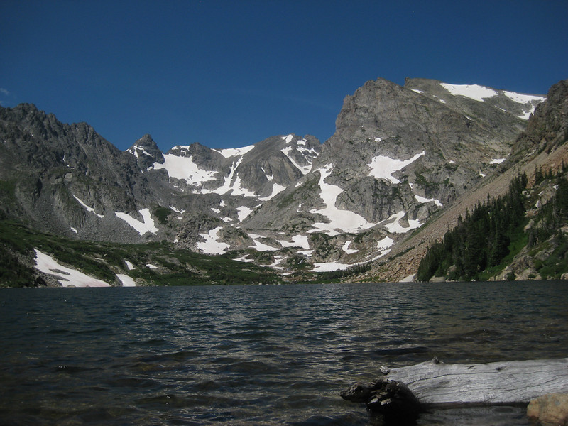 Hike to Lake Isabelle, Colorado July 18, 2009