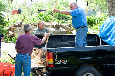 """Come on guys I can do it.  You know we should have brought more mulch."""