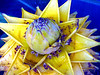 Bejweled Artichoke Swedish Flag Colors