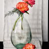Peonies in Bottle II - PAINTING - Copyright 2015 Steve Leimberg - UnSeenImages Com A8438664