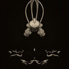 Tulips - Experimental 2 X B&W - Copyright 2015 Steve Leimberg - UnSeenImages Com