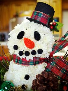 Flower Snowman