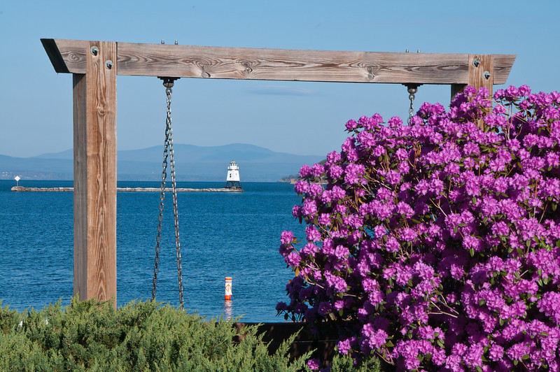 Breakwater and Blooms