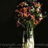 Becky's Flowers - II PAINTING - Copyright 2016 Steve Leimberg - UnSeenImages