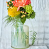 Peonies in Bottle III PAINTING - Copyright 2015 Steve Leimberg - UnSeenImages Com A8438651