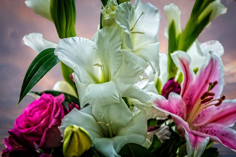 Basket of Flowers-0201