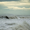 The Washout at Folly Beach as Hurricane Irene passed by