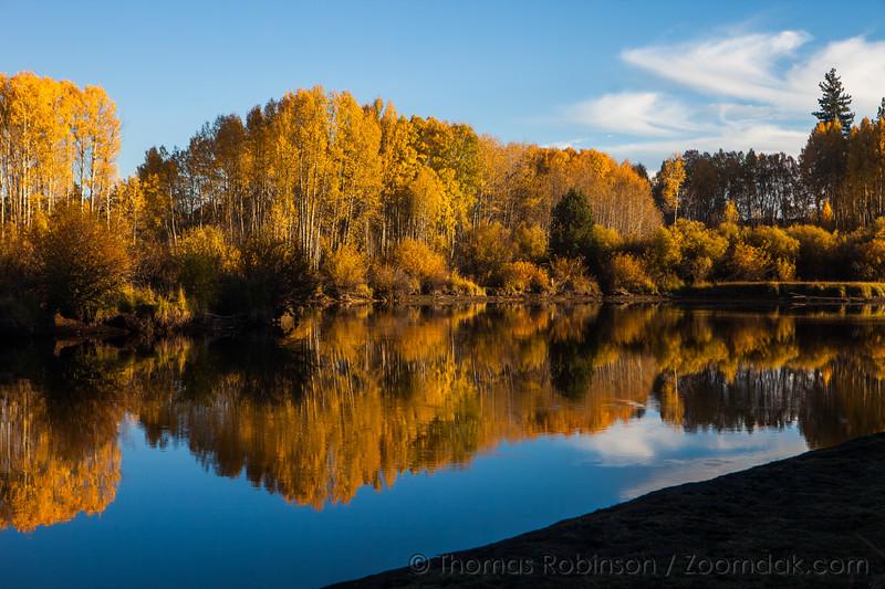Fall Color on the Deschutes River