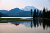 Kayaking at Sparks Lake, Oregon