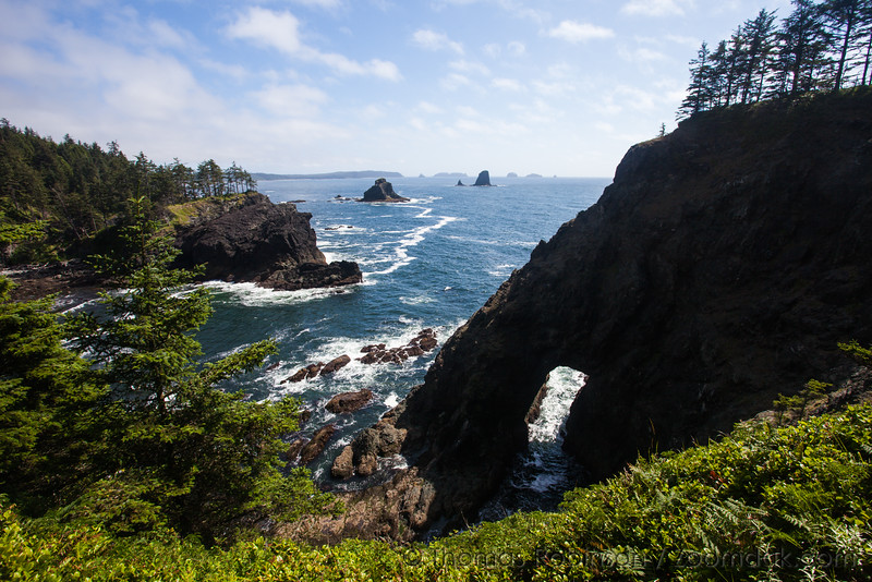 Arch on the Washington Coast