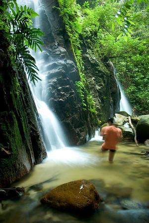 Pisang Waterfall