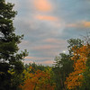 a gentle evening in fall -
