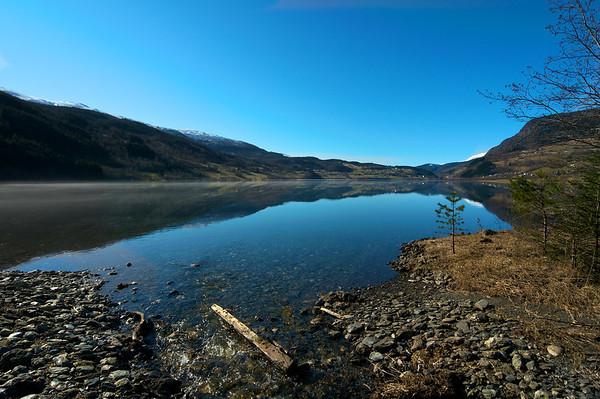 Vangsvatnet i dag..23.mars.2012