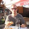 Ingen hyttemiddag på John denne gangen - det ble heller feirings med en real burgertallerken med cola i Oppdal sentrum :)