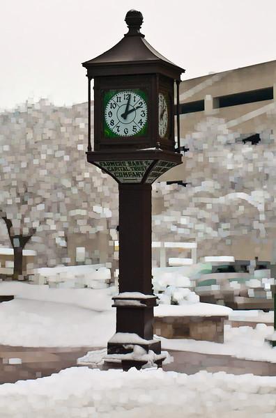 Farmer's Bank Clock