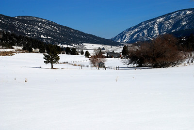 Cuddy Valley cradled in snow