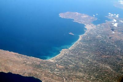 North coast of Crete, looking east