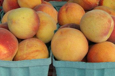 Peaches at Their Best, Nye's Farm Stand, Royalton