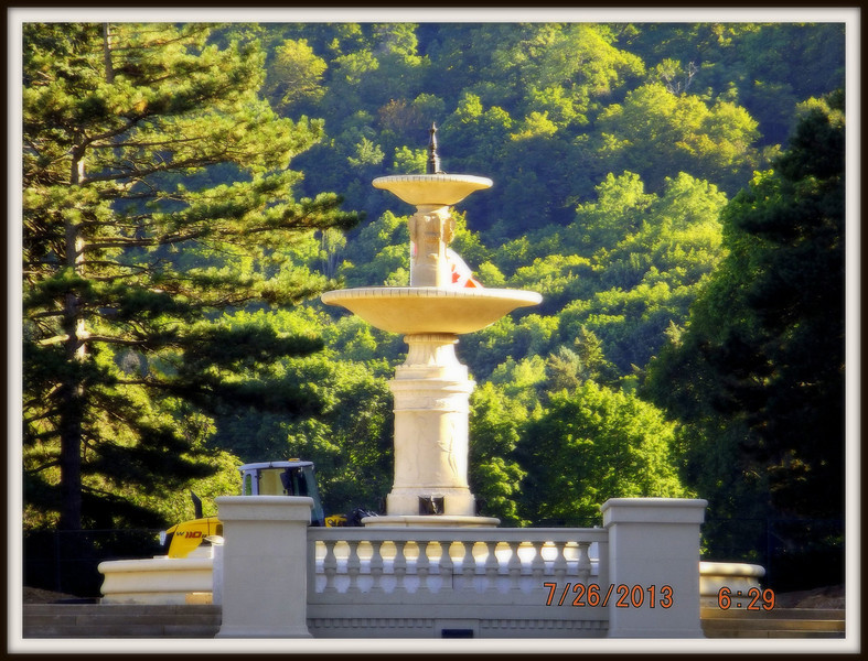 Our Gage Park Fountain! July 2013