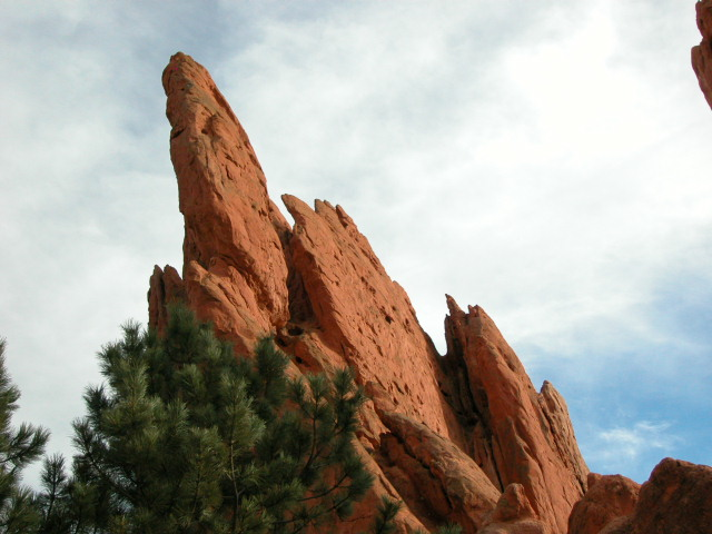 Some of the weird rock formations.