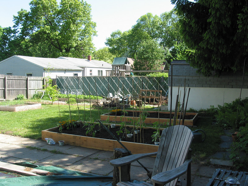 spring 2009 ~ new raised beds