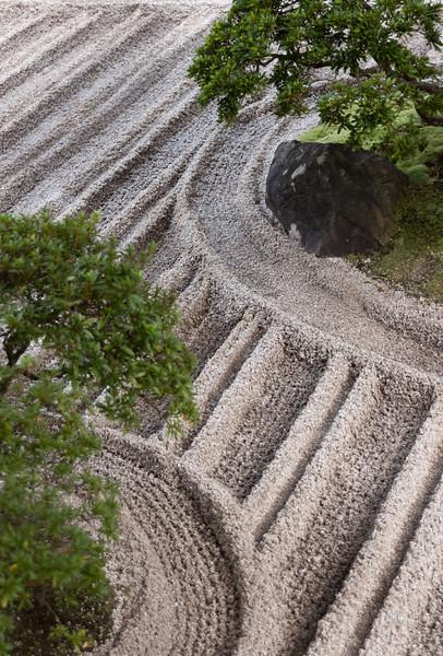 At the silver pavillion, Ginkaku-ji, Kyoto