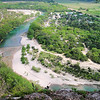 Frio River <br /> The edge of the cliff, hundreds of feet down.