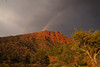 A double rainbow over Schnebly Hill after a rain