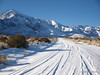 Taken on Dec 27th, 2008 near Big Pine CA after a rare Christmas time storm that left snow on the ground in the Desert.