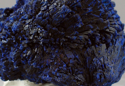 Azurite, close-up.