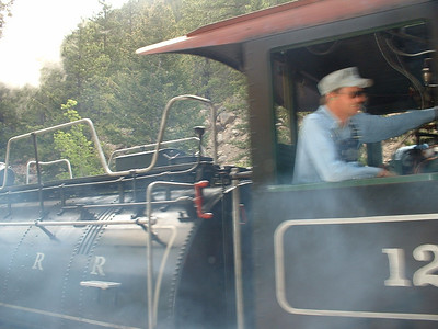 2006 - Tony's first trip to Georgetown and on the Georgetown Loop RR - number 12 conductor