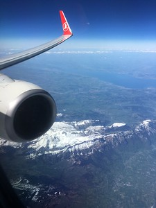 The Alps, from aboard Turkish Airlines London enroute Istanbul