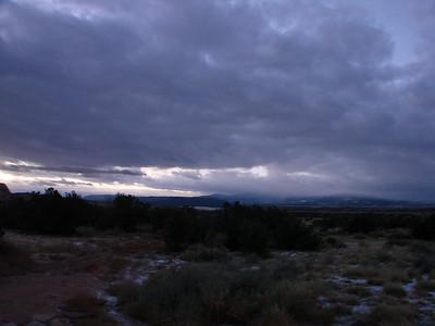 Ghost Ranch Morning Walk IV 2010 Nov.