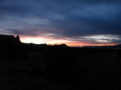 Ghost Ranch Morning Walks II & III 2010, Nov
