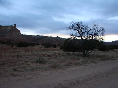 Ghost Ranch Morning Walk II 2010 Nov.