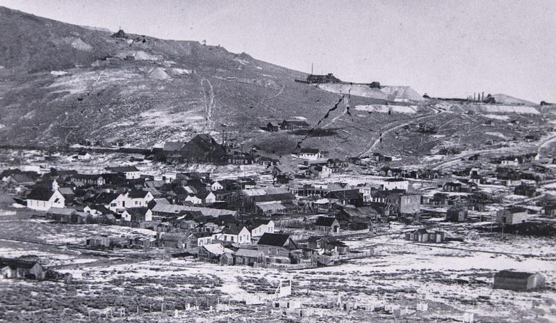 Bodie, California circa 1897