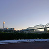 Walnut Street Bridge from Park