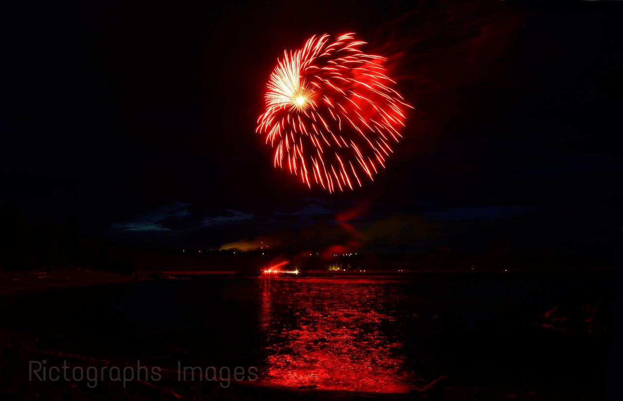 Fireworks, Canada Day, Summer 2016