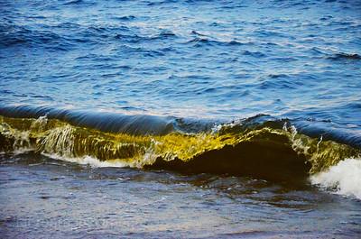 Beautiful Fresh Blue Waters Of Lake Superior