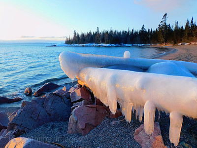 A Lake Superior Landscape, Winter 2020