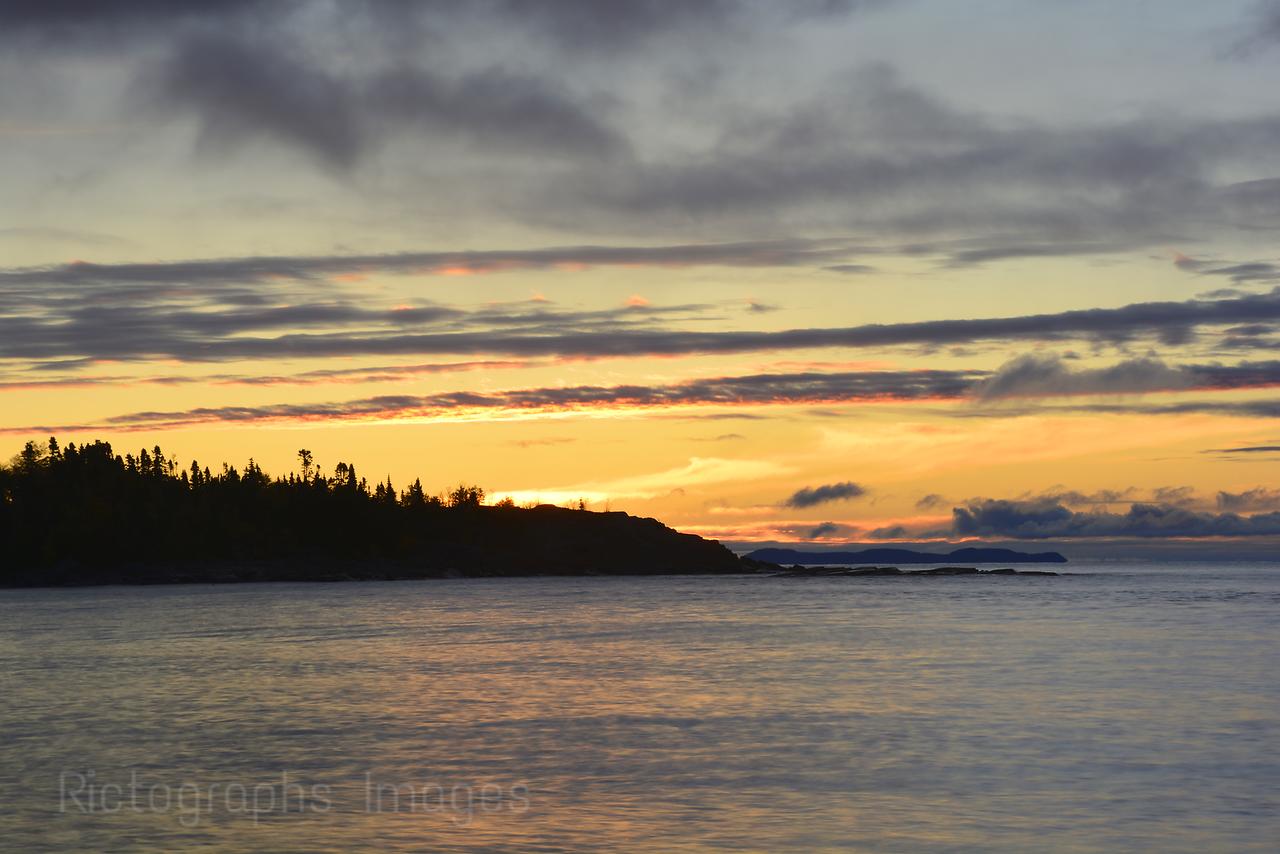 Lake Superior Water, Morning,