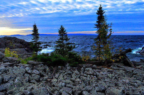 Beautiful Lake Superior's Shores
