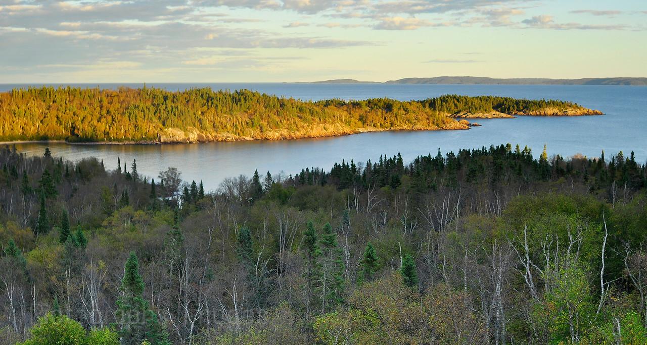 Lyda Bay, Lake Superior
