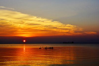 Sun Rising, Lake Superior, Summer 2017