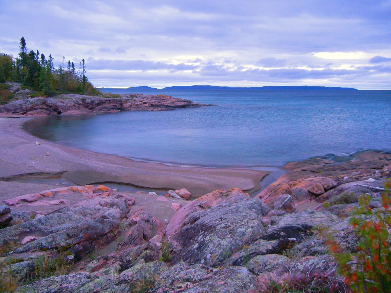 Blue Water Beach, Terrace Bay, Ontario, Canada, Lake Superior